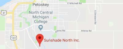Sunshade North on Google